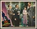 """Movie Posters:Hitchcock, Shadow of a Doubt (Universal, 1943). Lobby Card (11"""" X 14"""").Hitchcock.. ..."""