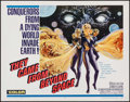 """Movie Posters:Science Fiction, They Came from Beyond Space (Embassy, 1967). Half Sheet (22"""" X28""""). Science Fiction.. ..."""