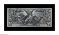 Large Size:Silver Certificates, Fr. 269 $5 1896 Silver Certificate Extremely Fine. A spectacular XF note, with incredibly deep, original embossing, perfect ...