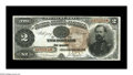 Large Size:Treasury Notes, Fr. 353 $2 1890 Treasury Note Very Fine. This 1890 Treasury Deuce, with its extraordinarily busy back design, gives the init...