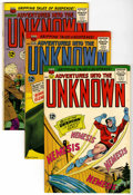 Silver Age (1956-1969):Horror, Adventures Into The Unknown Group (ACG, 1964-66) Condition: AverageVF....