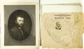 Political:3D & Other Display (pre-1896), Group Lot of Four Fine 1870-1880s Political Prints and Posters... (Total: 4 Items)