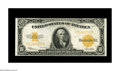 Large Size:Gold Certificates, Fr. 1173 $10 1922 Gold Certificate Choice New. Were it not for atight upper margin at right this note would surely fall int...
