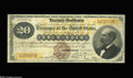 Large Size:Gold Certificates, Fr. 1175a $20 1882 Gold Certificate Very Fine. Full margins, soundedges, and good color go hand in hand with this nice mid-...