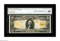 Large Size:Gold Certificates, Fr. 1185 $20 1906 Gold Certificate CGA About Uncirculated 50. Rich colors are a focal point on this popular high grade issue...