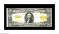 Large Size:Gold Certificates, Fr. 1187 $20 1922 Gold Certificate Extremely Fine-About Uncirculated. Bold color and crisp paper will add to the agressive b...