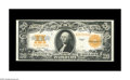 Large Size:Gold Certificates, Fr. 1187 $20 1922 Gold Certificate Extremely Fine. Glorious color and excellent margins accent this Gold Double Sawbuck....