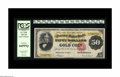 Large Size:Gold Certificates, Fr. 1193 $50 1882 Gold Certificate PCGS Gem New 66PPQ. A gorgeous Gold Certificate, with broad margins, ideal colors and cle...
