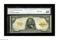 Large Size:Gold Certificates, Fr. 1199 $50 1913 Gold Certificate CGA Very Fine 20. This example has been noted as having pinholes, but the paper quality l...