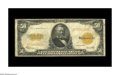 Large Size:Gold Certificates, Fr. 1200 $50 1922 Gold Certificate Fine. Problem-free save for a scattering of minor pinholes....