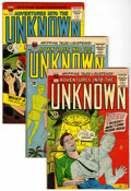 Silver Age (1956-1969):Horror, Adventures Into The Unknown Group (ACG, 1963-64) Condition: AverageFN....