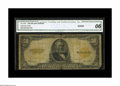 Large Size:Gold Certificates, Fr. 1200 $50 1922 Gold Certificate CGA Good 6. Breaks along the center fold are noted including on in the portrait....