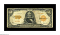Large Size:Gold Certificates, Fr. 1200a $50 1922 Gold Certificate Fine. This is the much scarcervariety, with the small serial numbers. Until about five ...
