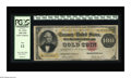 Large Size:Gold Certificates, Fr. 1214 $100 1882 Gold Certificate PCGS Fine 12. A niceproblem-free circulated note....