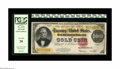 Large Size:Gold Certificates, Fr. 1215 $100 1922 Gold Certificate PCGS Very Fine 20. The orangeback on this C-note is quite vibrant. Fortunately for the ...