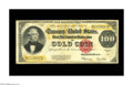 Large Size:Gold Certificates, Fr. 1215 $100 1922 Gold Certificate Very Fine. A strictly originalnote with excellent color for the grade....