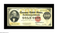 Large Size:Gold Certificates, Fr. 1215 $100 1922 Gold Certificate Very Fine.The available supplyof this increasingly popular denomination in the Gold Cer...