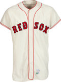 Baseball Collectibles:Uniforms, 1967 Bobby Doerr Game Worn Boston Red Sox Coach's Jersey. ...