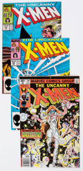 Modern Age (1980-Present):Superhero, X-Men Group of 34 (Marvel, 1978-89) Condition: Average VF.... (Total: 34 Comic Books)