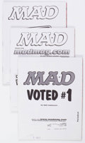 Magazines:Mad, MAD Magazine Short Boxes Group (EC, 2001-15) Condition: AverageVG/FN.... (Total: 2 Box Lots)