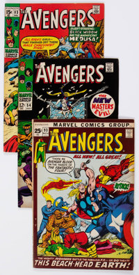 The Avengers Group of 69 (Marvel, 1968-85) Condition: Average FN.... (Total: 69 Comic Books)