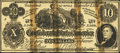 Confederate Notes:1862 Issues, Facsimile T46 $10 1862.. ...