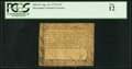 Colonial Notes:Maryland, Maryland August 14, 1776 $1/3 PCGS Fine 12.. ...