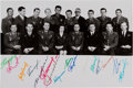 Explorers:Space Exploration, Soviet Cosmonaut Corps Vintage Photo Signed by Sixteen, from theCollection of General Nikolai Kamanin....