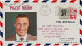 Explorers:Space Exploration, Mercury-Redstone 4 (Liberty Bell 7): Gus Grissom SignedLaunch Cover. ...