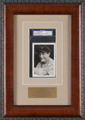 Baseball Collectibles:Others, Late 1930's Lou Gehrig Signed Photograph, PSA/DNA Gem Mint 10....