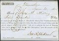 Confederate Notes:Group Lots, Interim Depositary Receipt Winnsboro, (SC) - $400 June 23, 1862Tremmel SC-148.. ...