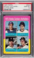 Baseball Cards:Singles (1970-Now), 1975 Topps Gary Carter - Rookie Catchers-Outfielders #620 PSA GemMint 10....