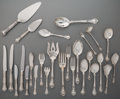 Silver Flatware, American:Gorham, A Hundred and Sixty Four-Piece Gorham Chantilly Pattern Partial Service with Serving Pieces, Providence, Rhode I... (Total: 164 Items)