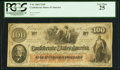 Confederate Notes:1862 Issues, J.S. Tucker T41 $100 1862.. ...