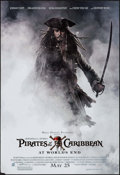 "Movie Posters:Adventure, Pirates of the Caribbean: At World's End (Buena Vista, 2007).Dual-Sided Printed Mini Poster (20"" X 29"") Advance. Adventure...."