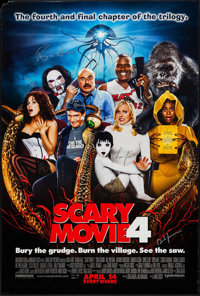 "Scary Movie 4 & Others Lot (Dimension, 2006). Autographed One Sheets (2) (27"" X 40"") One Sheet (27"" X..."