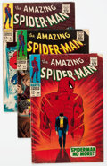 Silver Age (1956-1969):Superhero, The Amazing Spider-Man #50-60 Group (Marvel, 1967-68) Condition: Average VG+.... (Total: 11 Comic Books)