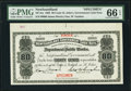 Canadian Currency: , St. John's, NF- Newfoundland Government Cash Note 80¢ 1903 Ch. #NF-4cs Specimen. . ...