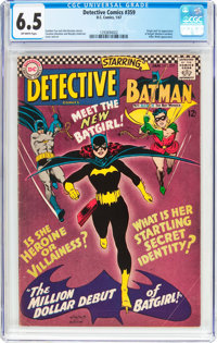 Detective Comics #359 (DC, 1967) CGC FN+ 6.5 Off-white pages