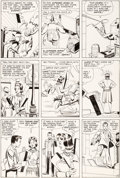 Original Comic Art:Panel Pages, Steve Ditko Amazing Spider-Man #21 Story Page 5 Original Art (Marvel, 1965)....