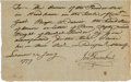Autographs:Statesmen, Jonathan Trumbull Signed Document. ...