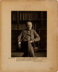 Autographs:Inventors, Thomas Edison Signed Photograph....