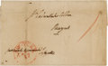 Autographs, Gilbert du Motier, Marquis de Lafayette Signed Cover Addressed in His Hand.. ...