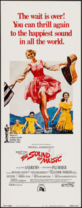 "Movie Posters:Academy Award Winners, The Sound of Music (20th Century Fox, R-1973). Insert (14"" X 36"").Academy Award Winners.. ..."