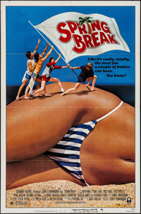 """Spring Break & Others Lot (Columbia, 1983). One Sheets (3) (27"""" X 41"""" & 26"""" X 40"""")..."""
