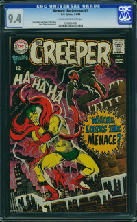 Beware the Creeper #1 (DC, 1968) CGC NM 9.4 Off-white to white pages