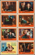 """Movie Posters:Crime, Another Man's Poison (United Artists, 1952). Lobby Card Set of 8(11"""" X 14""""). Crime.. ... (Total: 8 Items)"""