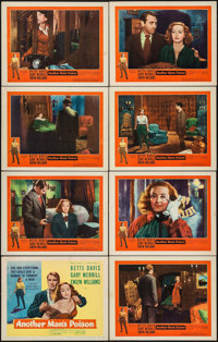"Another Man's Poison (United Artists, 1952). Lobby Card Set of 8 (11"" X 14""). Crime. ... (Total: 8 Items)"
