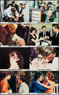 """Movie Posters:Hitchcock, Frenzy (Universal, 1972). Mini Lobby Card Set of 8 (8"""" X 10""""). Hitchcock.. ... (Total: 8 Items)"""