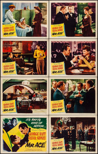 "Mr. Ace (United Artists, 1946). Lobby Card Set of 8 (11"" X 14""). Drama. ... (Total: 8 Items)"